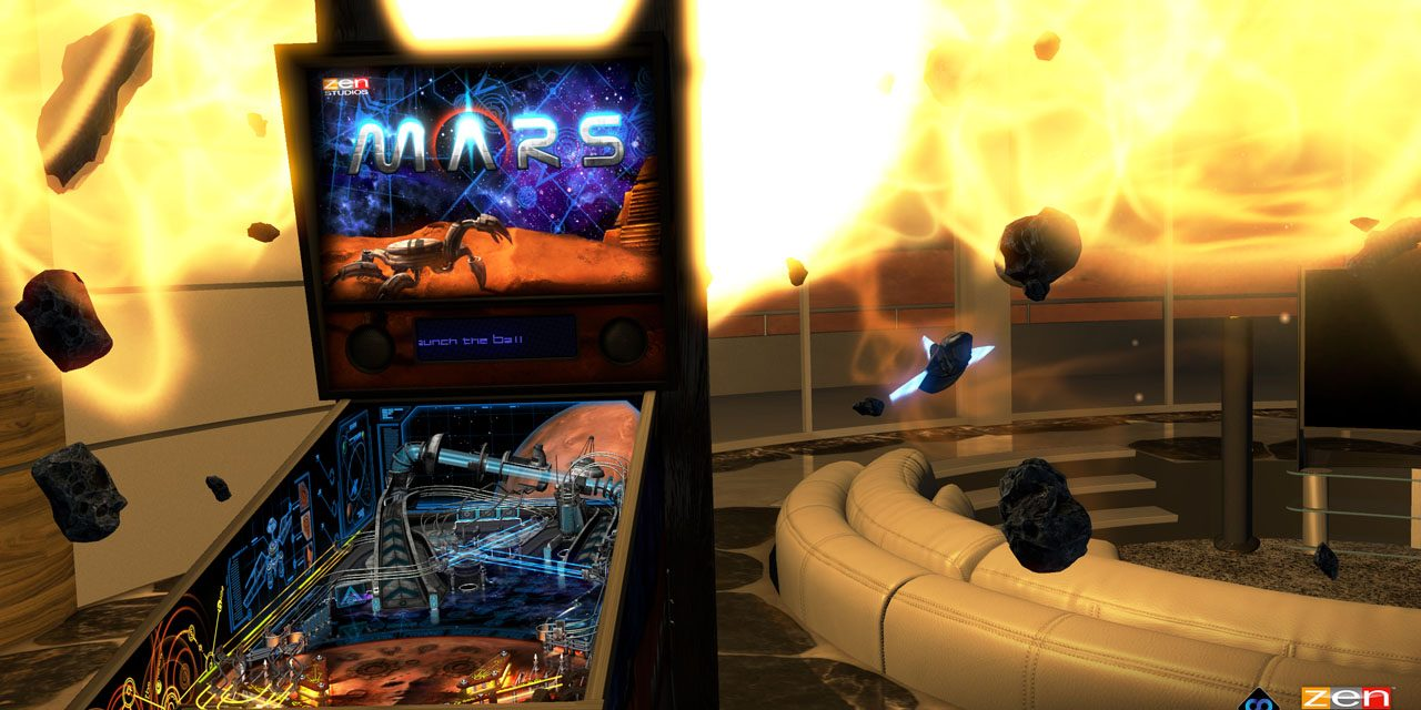 Pinball FX 2 VR Edition Available Now For Europe
