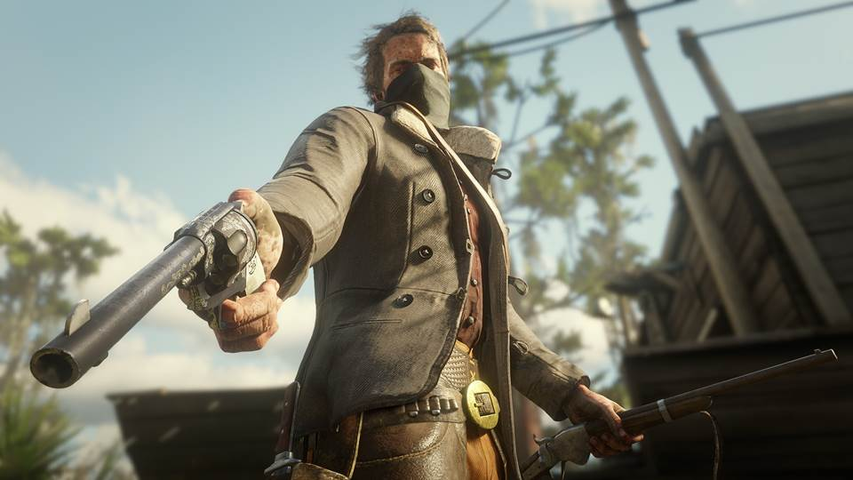 Red Dead 2 offers an arsenal of weaponry