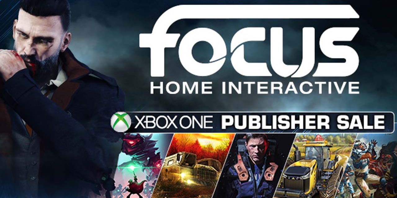 Focus Home Interactive publisher sale is happening now on Xbox