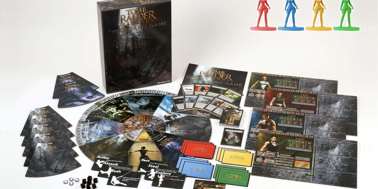 Tomb Raider Legends board game arriving in 2019