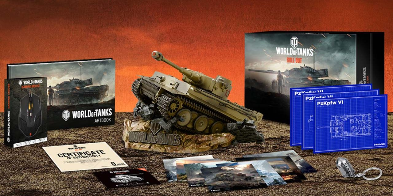 World of Tanks Collector's Edition arrives this month
