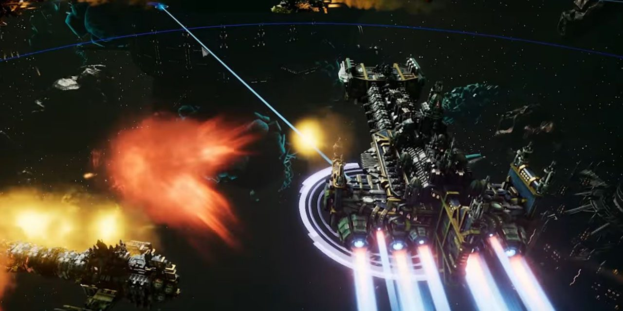 Battlefleet Gothic: Armada 2's 'Overview' video series will prepare you for the beta