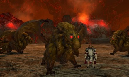 Final Fantasy 14's latest patch sends you off to the flaming land of Pyros