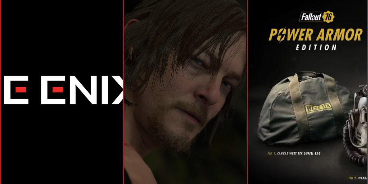 The Weekly News Roundup: Parasite Eve, Death Stranding, and Fallout 76