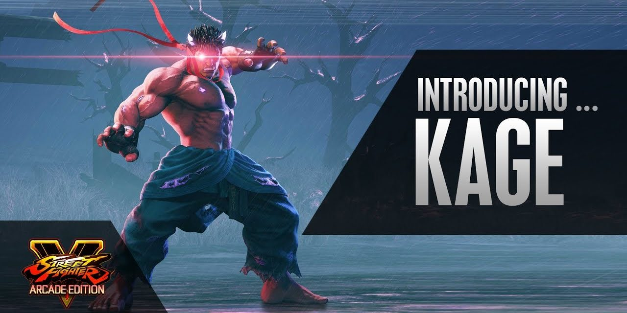 Street Fighter 5: Arcade Edition Welcomes DLC Character 'Kage' To The Roster