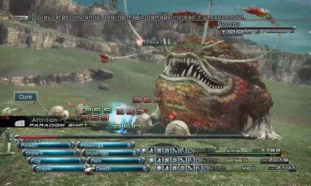 Final Fantasy 13: Growth Egg Accessory and CP Farming Guide