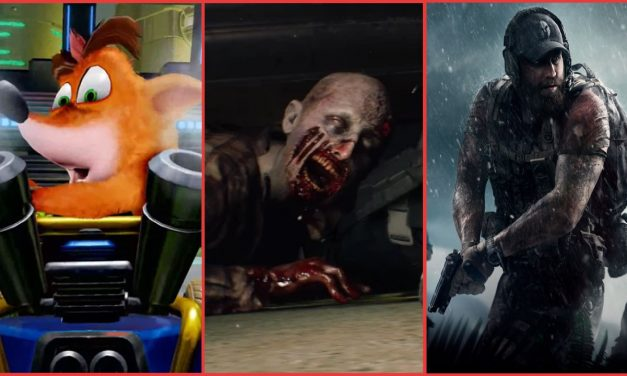 The Weekly News Roundup: A new Crash Team Racing, updates for Ghost Recon Wildlands, and a PUBG Mobile Resident Evil 2 Crossover