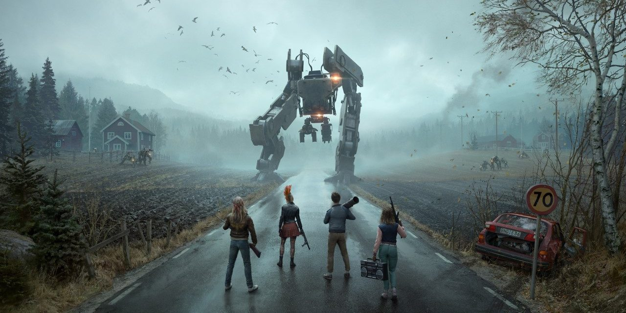 Generation Zero's killer robots will arrive in March!