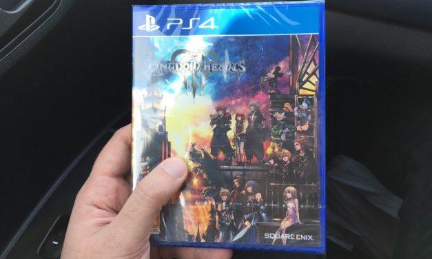 Holding a copy of Kingdom Hearts 3 made me weirdly retrospective