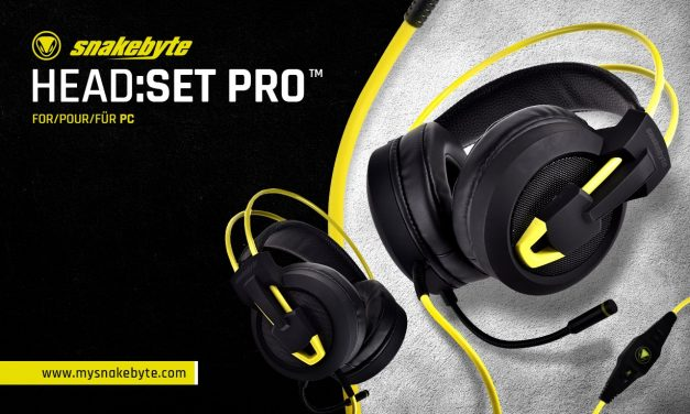 From snakebyte Comes A Luxury PC Headset Without The Luxury Price Tag
