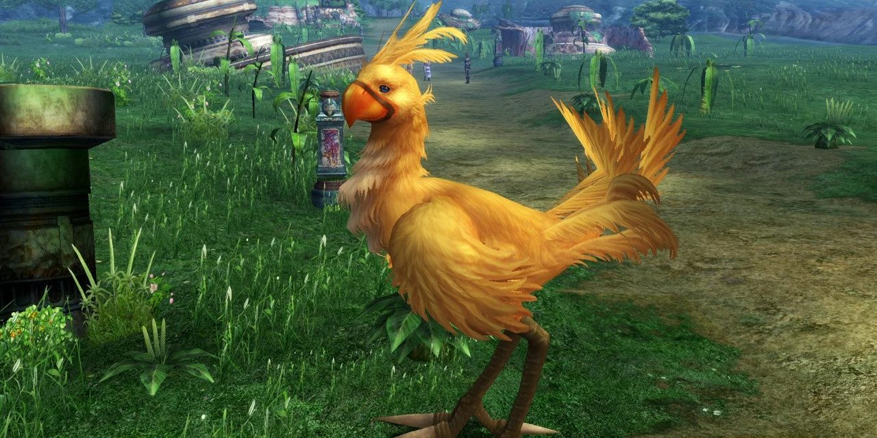 Chocobo Run is a new racing game for Facebook Messenger