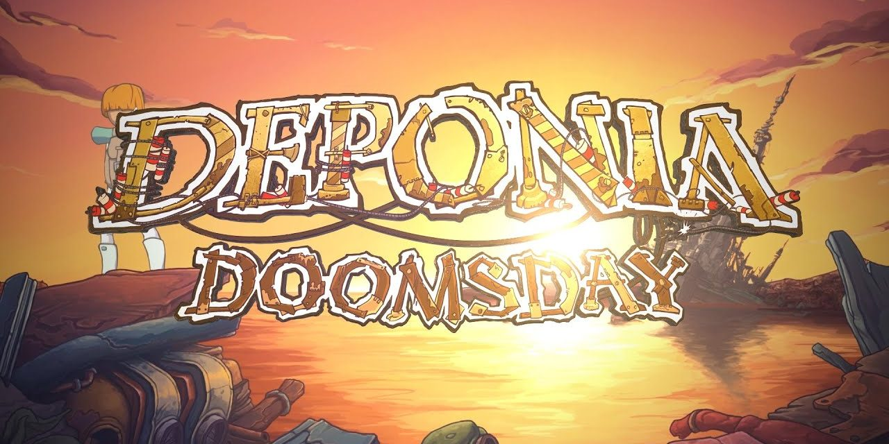 Deponia Doomsday is Available Now on PS4 and Xbox One!