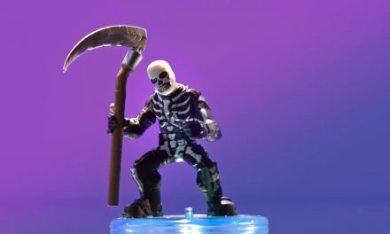 The Skull Trooper is just one of a new Fortnite Battle Royale toy lineup