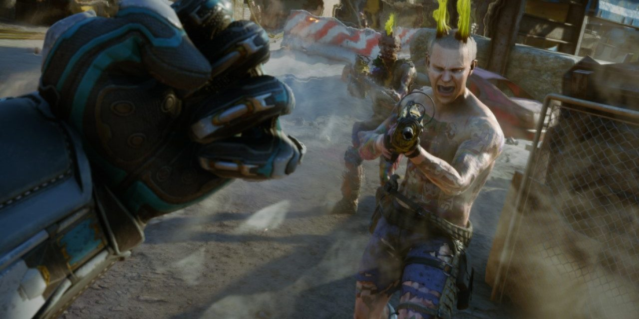 Rage 2 gameplay shows off homing death stars and more