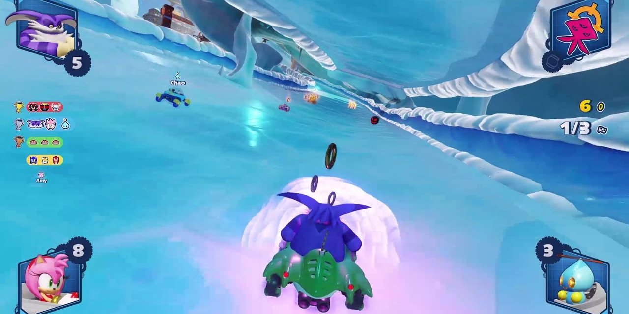 Behind The Scene Look At Team Sonic Racing's Bingo Party