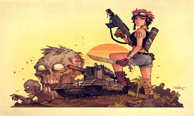 Tank Girl Smashes Into The World of Tanks Blitz
