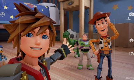 Kingdom Hearts 3 Tells A Stop Motion Toy Story