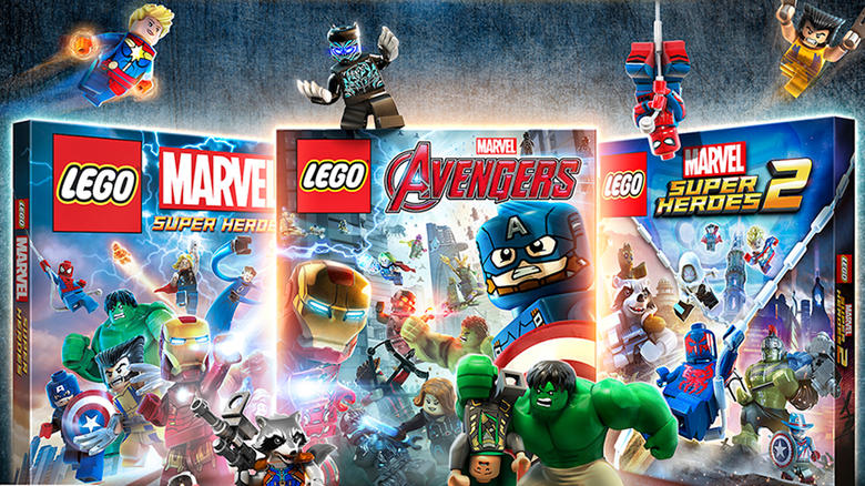 LEGO Marvel Collection Out Now