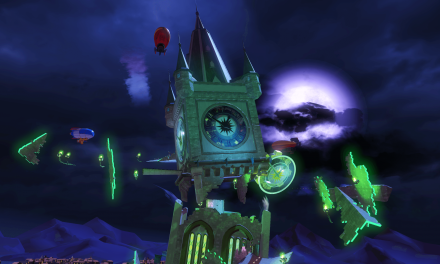 New Spooky Track Unveiled For Team Sonic Racing