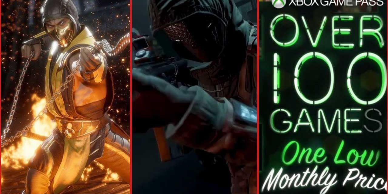 The Weekly News Roundup: Mortal Kombat 11, Call of Duty Mobile, and Xbox Game Pass