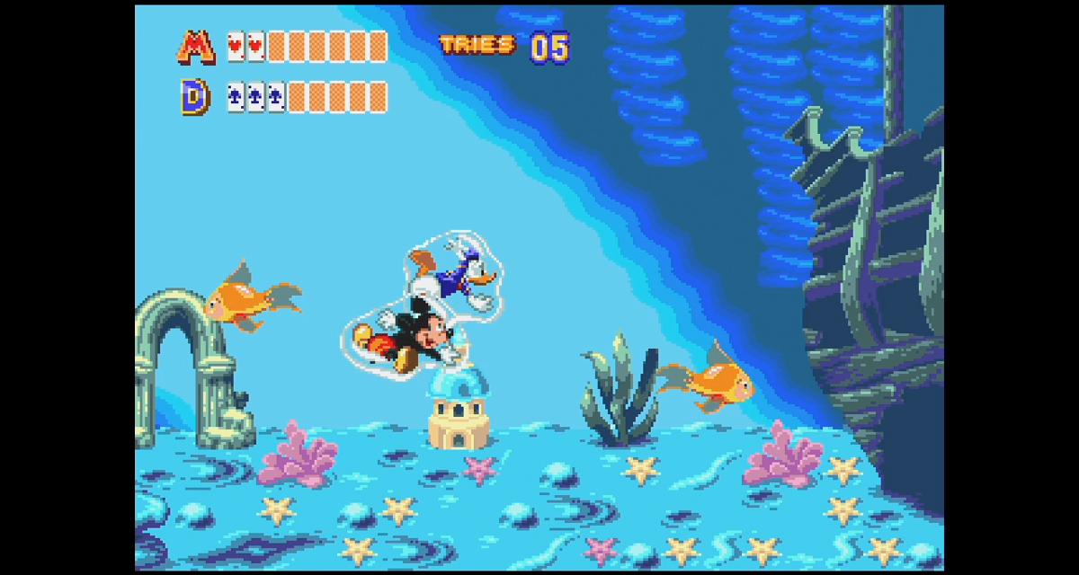 Castle of Illusion Starring Mickey Mouse And More Classics Added To The SEGA Mega Drive Mini