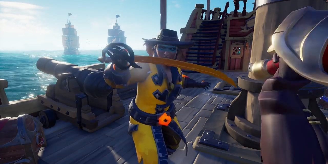 Sea of Thieves Anniversary update introduces a race for buried treasure and more