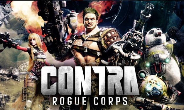 Contra Rogue Corps arriving in September, has a killer panda