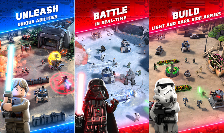 Lego Star Wars Battles Coming To Mobile Devices