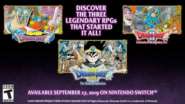 Classic Dragon Quest Games Coming Next Week