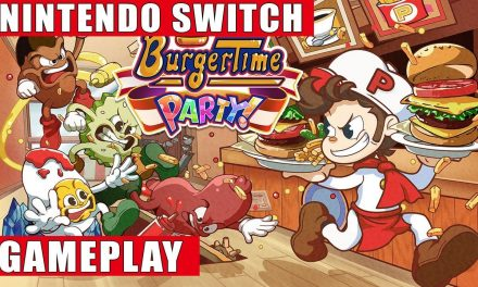 BurgerTime Party Time!