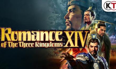 Romance of The Three Kingdoms XIV Releasing Next February