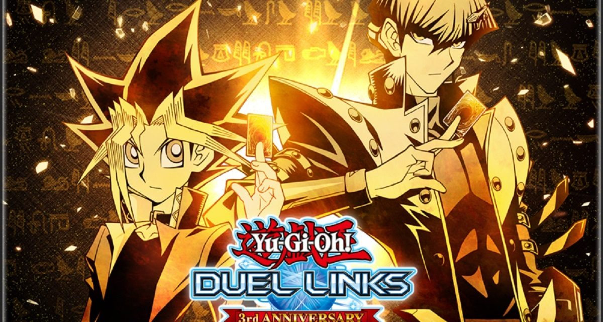 Yu-Gi-Oh! Duel Links Celebrates With a Third Anniversary Campaign