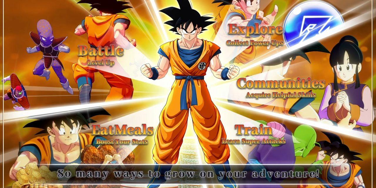 Character Progression Explained in Latest Dragon Ball Z: Kakarot Trailer