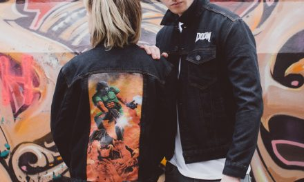 Spruce Up Your Wardrobe With Insert Coin's New DOOM Denim Jacket & Pin