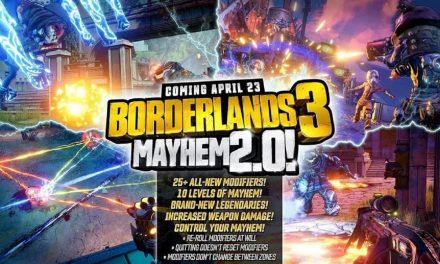 Mayhem 2.0 hits borderlands 3 along with a new seasonal event