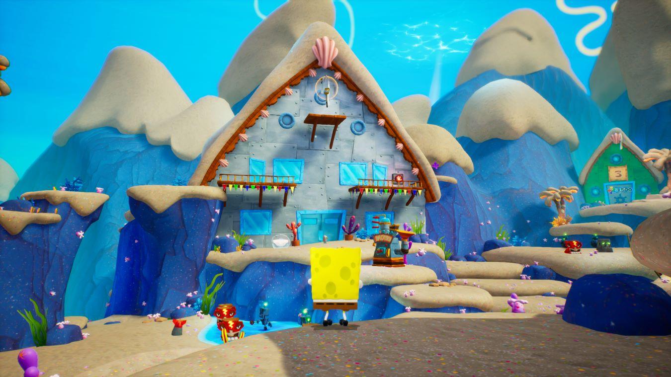 GGS Gamer review for SpongeBob SquarePants: Battle for Bikini Bottom – Rehydrated