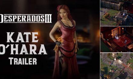 Meet Desperados III's Kate O'Hara