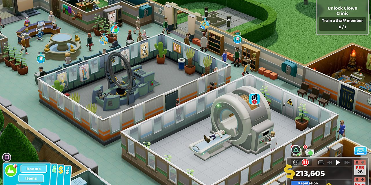 Sandbox Mode Available For Two Point Hospital