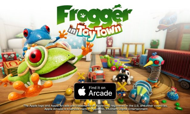 Frogger in Toy Town Adds Simple Mode