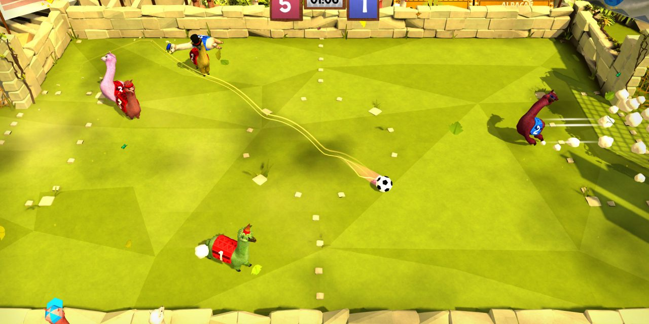 Alpaca Ball Coming To PC And Switch