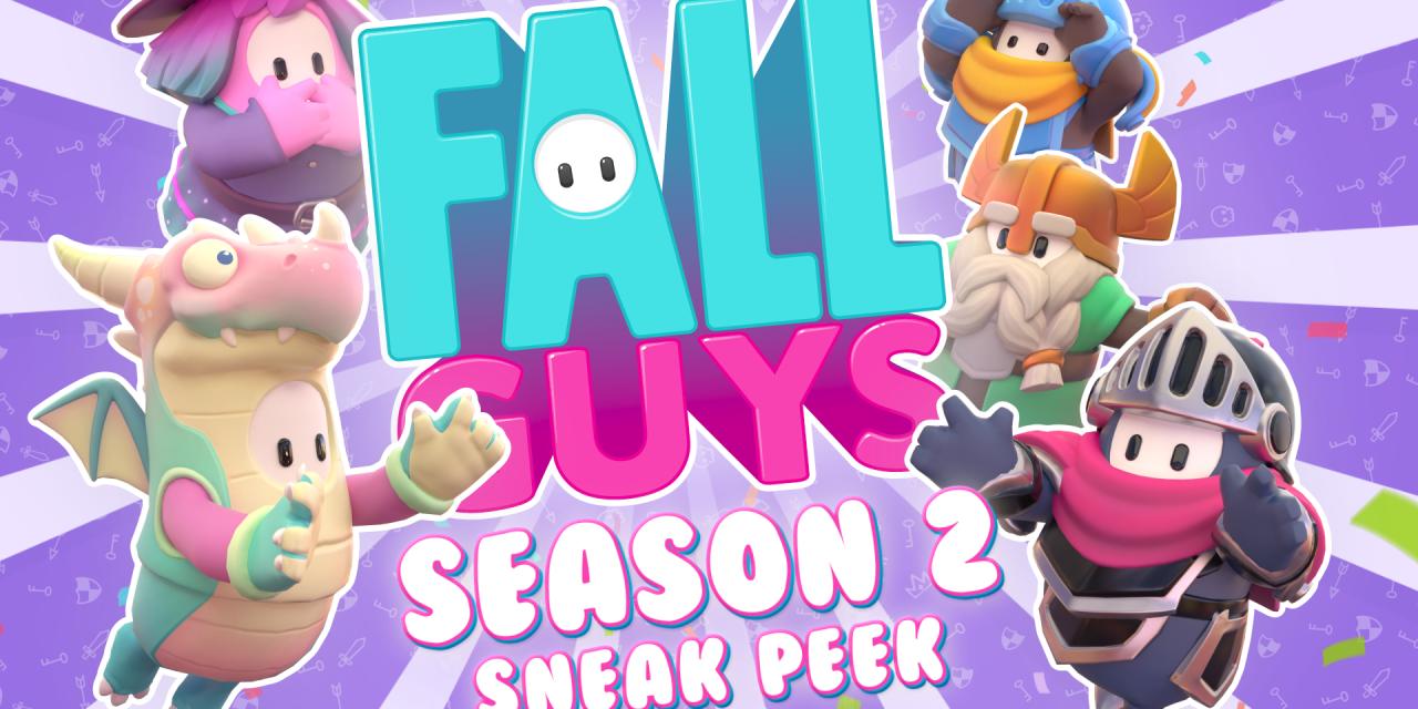A Sneak Peek At Fall Guys Season 2