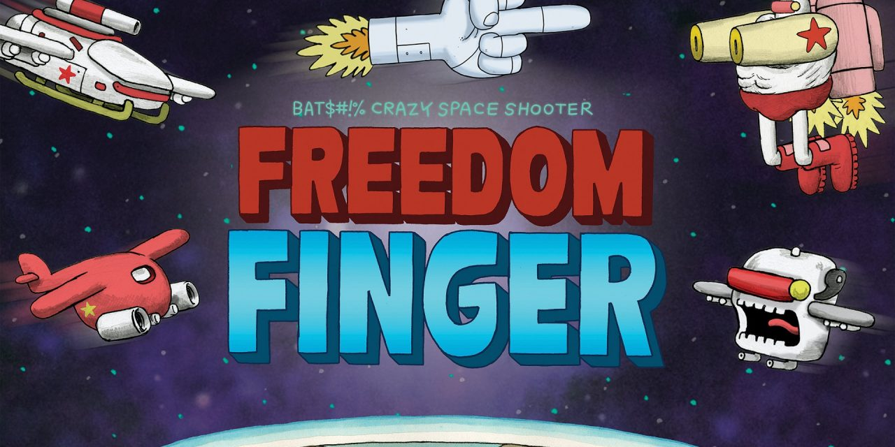 Freedom Finger Gets Physical With Super Rare Games!