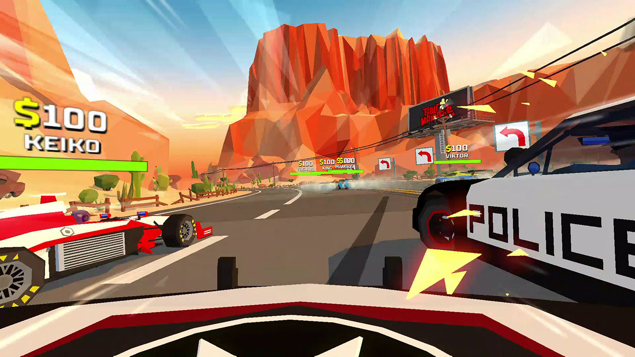 GGS Gamer's Hotshot Racing review