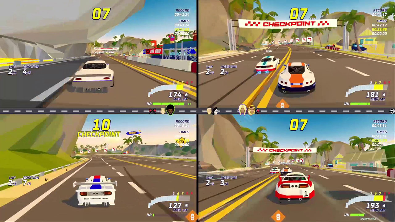 Hotshot Racing review from GGS Gamer