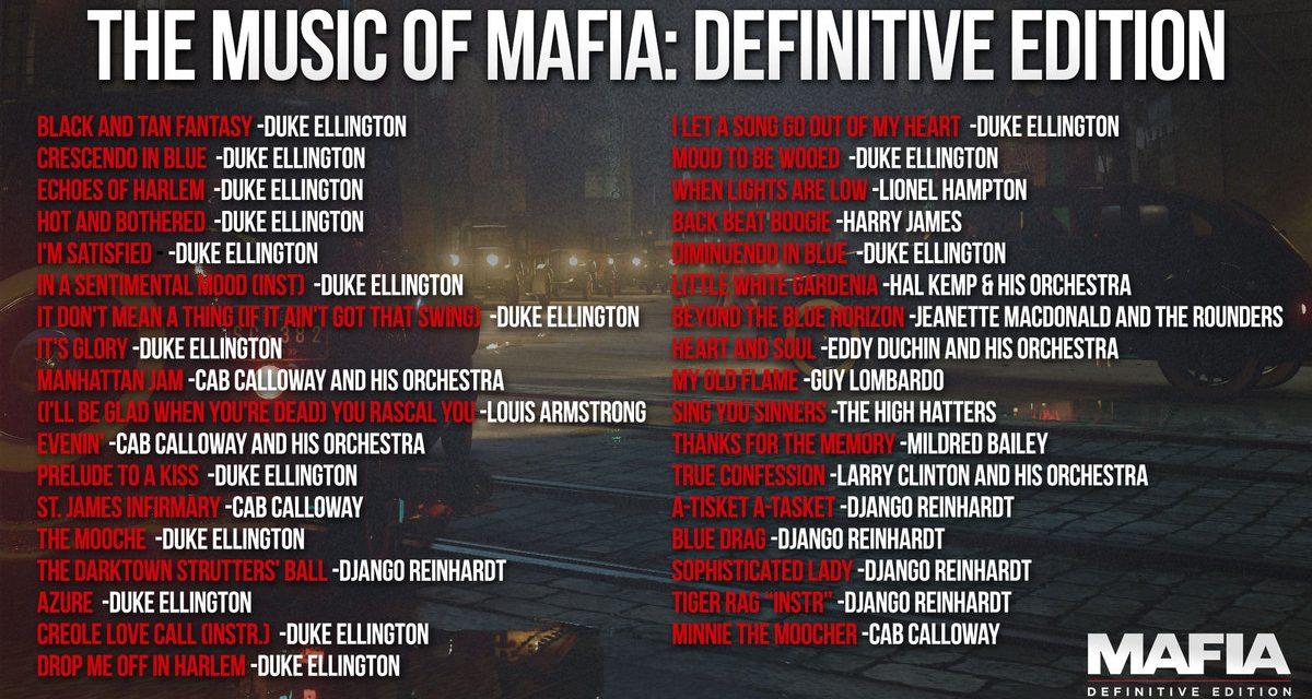 Mafia: Definitive Edition Soundtrack Detailed