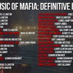 Mafia: Definitive Edition Soundtrack Detailed