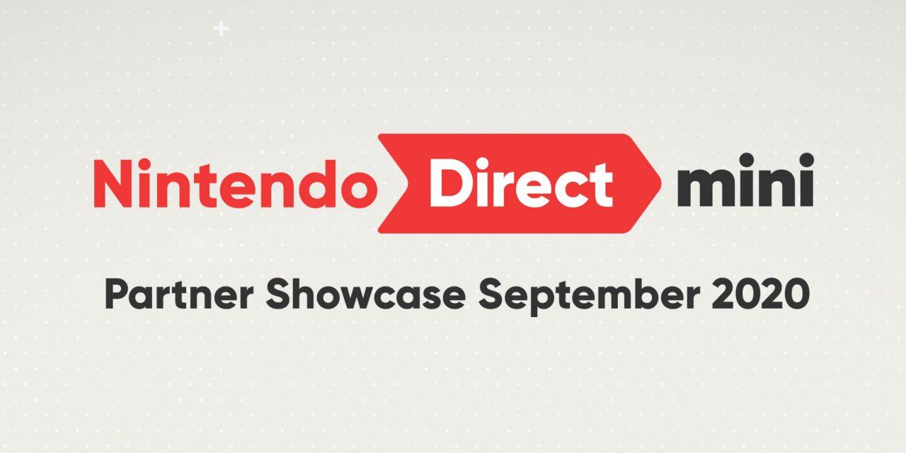 Nintendo Direct Mini: Partner Showcase Coming September 17th