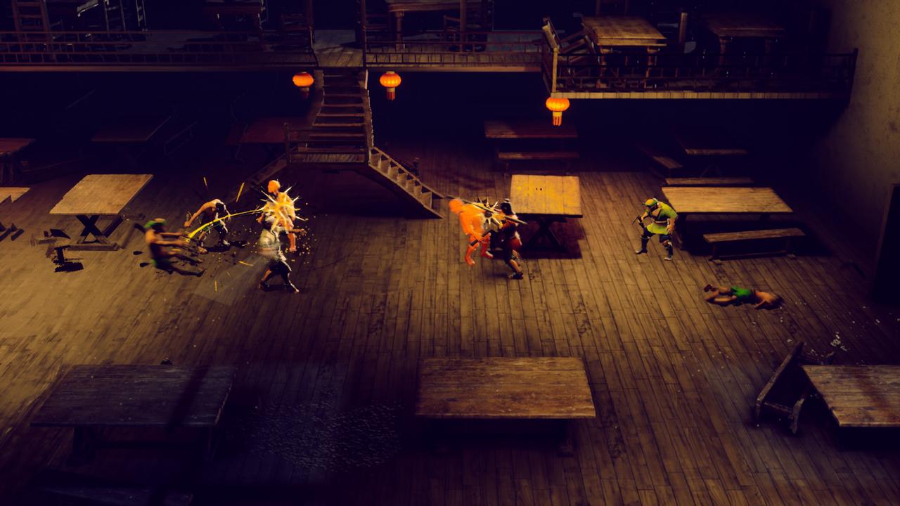 GGS Gamer reviews 9 Monkeys of Shaolin