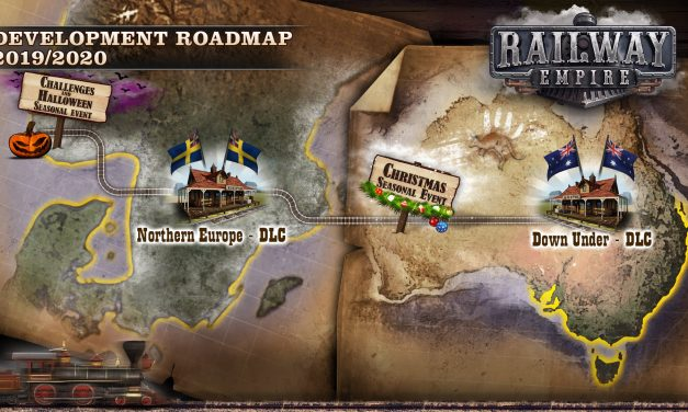 New DLC Available For Switch Version Of Railway Empire